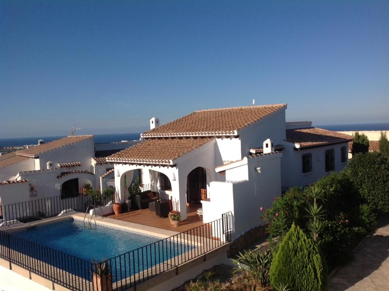 Panoramic Mediterranean views - Casa Lucia Monte Pego, villa, pool, stunning views - free Wi-Fi and Aircon - Denia - rentals