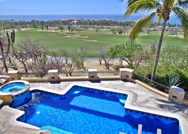 Great golf course & ocean views - Agave Azul is a great ocean & golf view rental perfect for groups & families - Cabo San Lucas - rentals