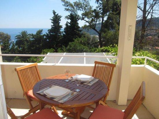 Sunny terrace with view and dining for 4 - Sunny beautifully renovated terrace seaviews - Villefranche-sur-Mer - rentals