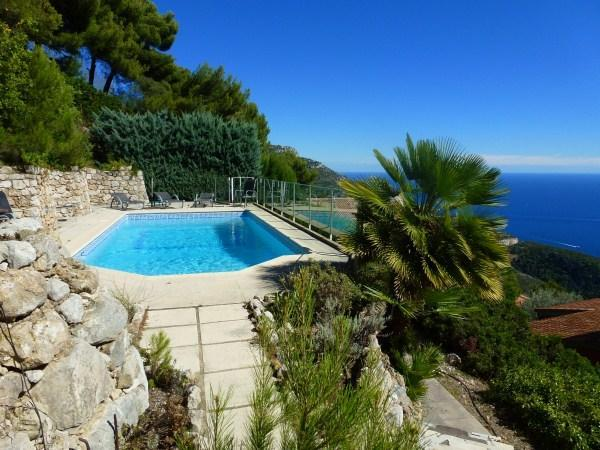 New Nice Villa with Pool and Amazing View, 10 minutes to Monaco - Image 1 - Eze - rentals