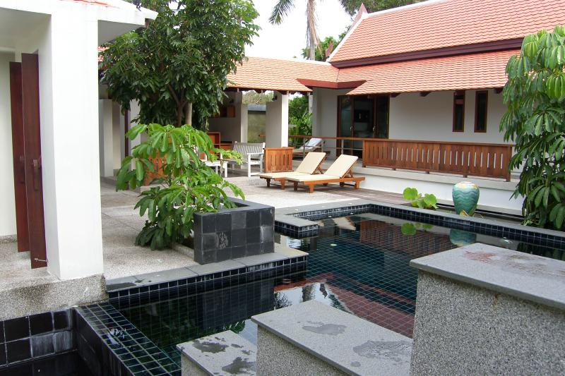 COURTYARD & POOL - Villa Siam  Luxurious  3 Bedroom Private Pool Villa - Breakfast chef on request - Nai Harn - rentals