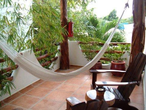 Porch/balcony - Exquisite 1 bedroom suite in cozy condo in TULUM - Tulum - rentals