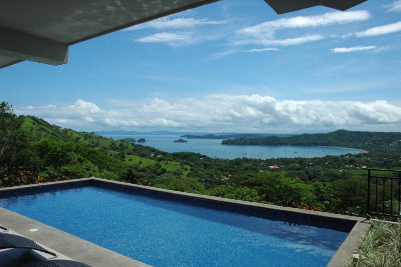 Pool & Patio View - Villa Santaluz- Luxurious Ocean View Villa - Playas del Coco - rentals