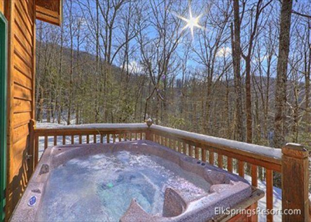 Secluded 1 Bedroom Cabin Bordering The Great Smoky Mountain National Park - Image 1 - Gatlinburg - rentals
