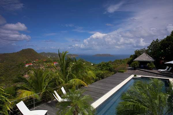 Located in Petite Saline with views of the ocean WV GAN - Image 1 - Saint Barthelemy - rentals