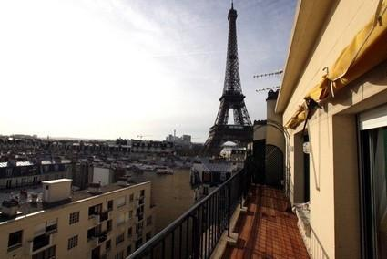 Eiffel Tower View 2 Bedroom & 1 BA Condo (Rue de l - Image 1 - Paris - rentals
