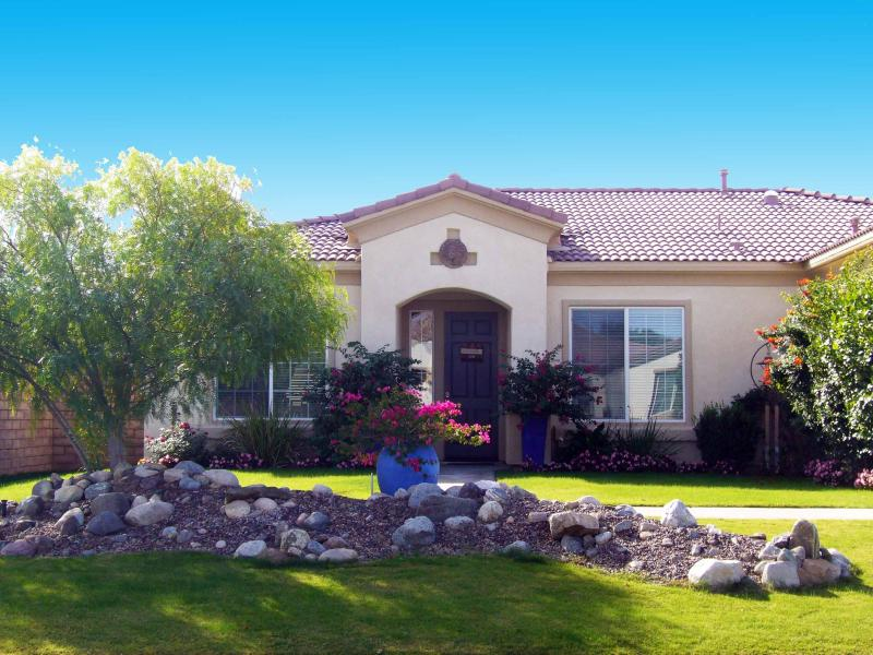 Front yard and Entry to your Home - Relax and Enjoy in your own Private Home ~ - La Quinta - rentals
