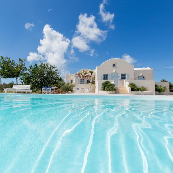 Santorini 2 bedroom  peacefull Villa with pool - Image 1 - Santorini - rentals