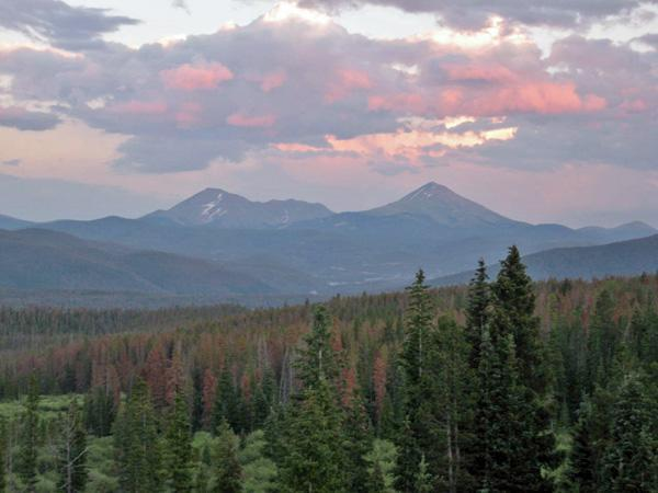 View from Living Room Window - Ski Condo, Unbeatable Views, Location and Price! - Silverthorne - rentals