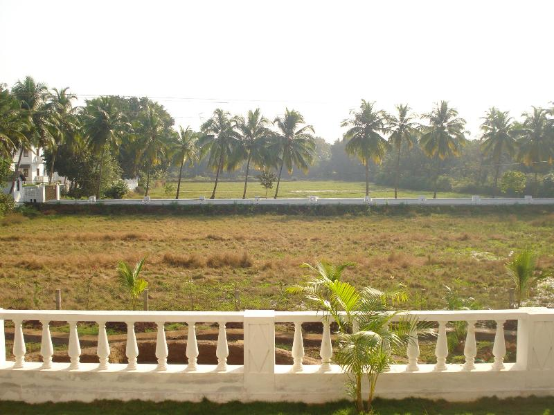 View from the apartment - The Nest - 2 BHK furnished AC house in Siolim Goa - Siolim - rentals