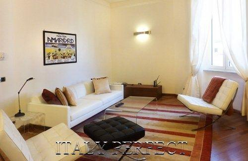 Perfect Large Bright Sleek Roman Apartment-Rigolet - Image 1 - Rome - rentals