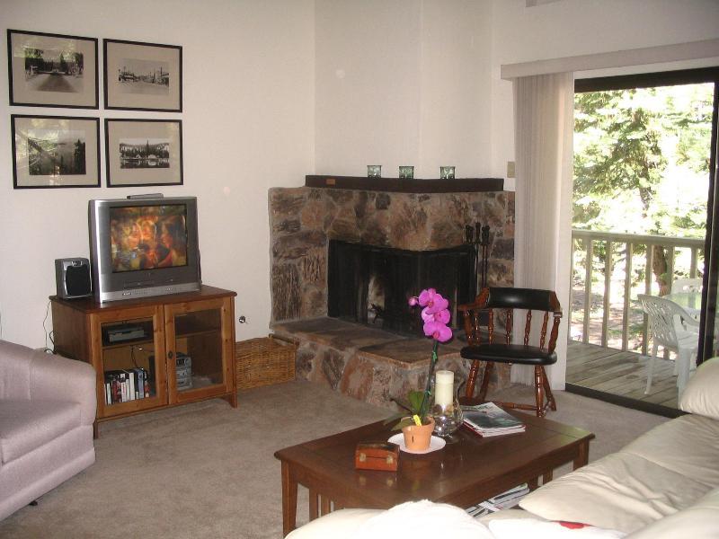 Living Room - NO TAHOE Condo ,Close to NORTHSTAR,- & SKI RESORTS - California - rentals