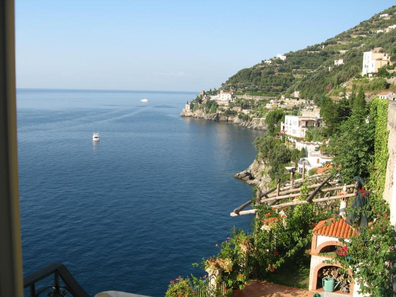 From Entrance View - Amalfi Coast - Romantic cottage on the sea - Ravello - rentals