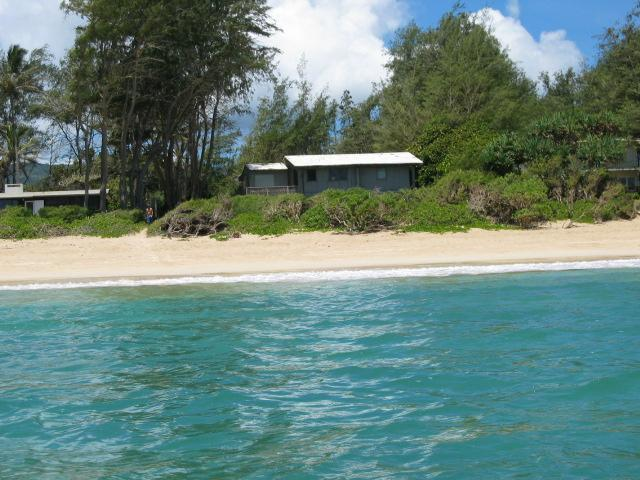 View of the house from a kayak - Hale M - Kahuku - rentals