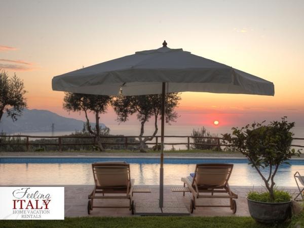Corallo Apartment, View of Capri,Garden & Pool - Image 1 - Massa Lubrense - rentals