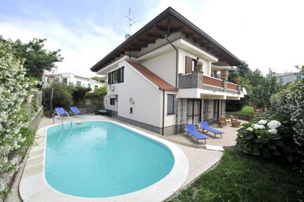 Villa Sara, Private Garden and Swimming Pool - Image 1 - Sant'Agata sui Due Golfi - rentals