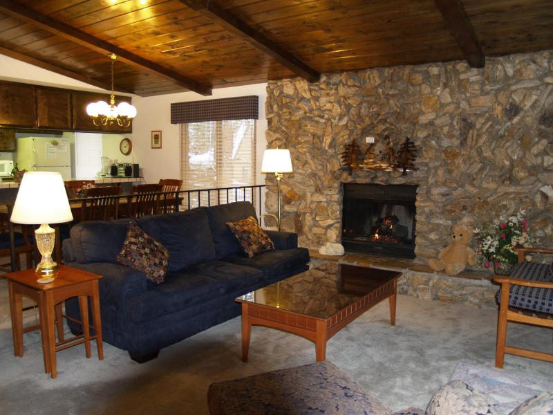 Living Room Tahoma Lodge - Pvt Spa Wifi,Near Heavenly/Casinos $1142 wk  total - Stateline - rentals