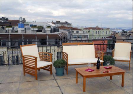 individual terrace - SULTANAHMET DELUXE TERRACE APARTMENT - Istanbul - rentals
