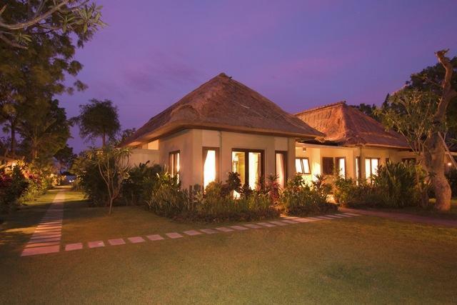 The villa from South Garden - Villa Wilali - Peaceful Private Beachfront Villa - Pemuteran - rentals