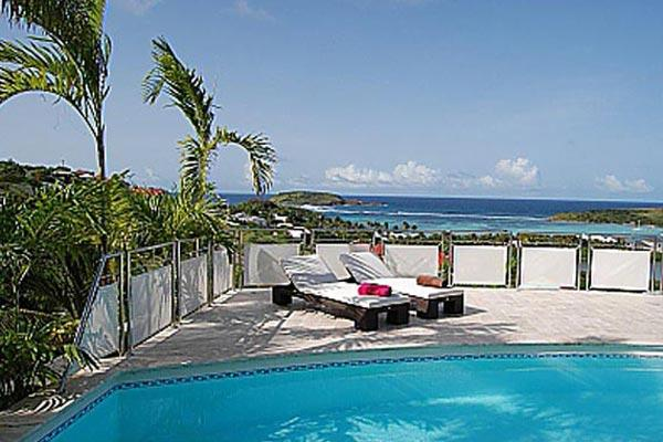 Beautiful villa with sensational view & fully-equipped kitchen WV LRV - Image 1 - Saint Barthelemy - rentals