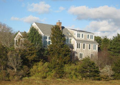 View from Pochet Footbridge-Original - OCORR - East Orleans - rentals