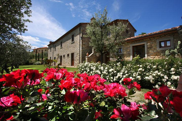 Luxury Villa, A/C, Views, village walking distance - Image 1 - Cortona - rentals