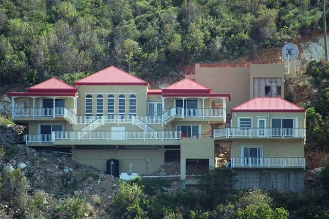 Casa de Suenos (House of Dreams) is located is a pristine private hillside overlooking John's Folly. - Casa de Suenos - Coral Bay - rentals