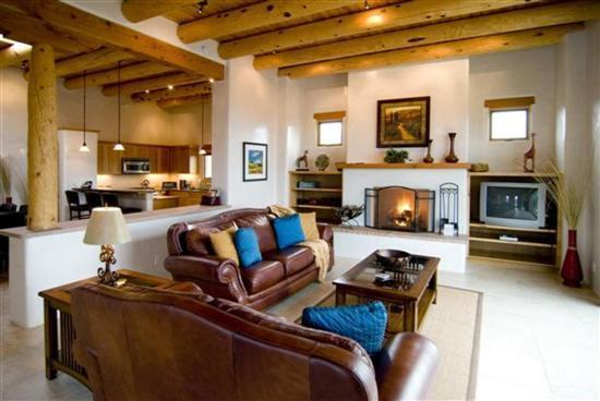 Living room - Spectacular Bishop's Lodge Villa 5 Mins. fr. Plaza - Santa Fe - rentals