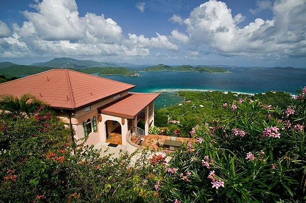 The views from here are sensational and very private. - Villa Ventosa - Coral Bay - rentals
