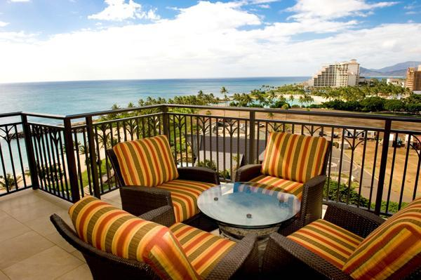 View from Lanai - Ko Olina Beach Villa BT1003 - Ocean Views 10th Fl - Kapolei - rentals