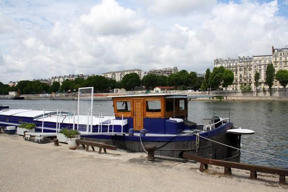 Charming Houseaboat in Paris for two - #466 - Image 1 - Paris - rentals