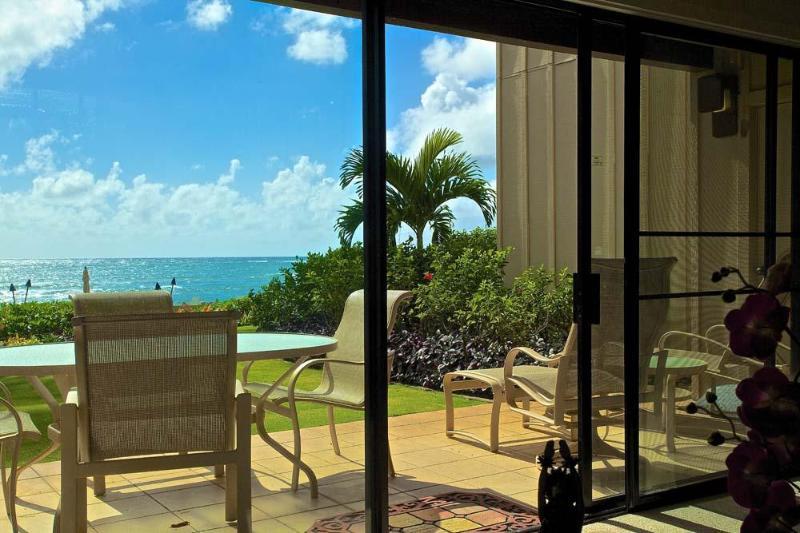 Ocean Front Lanai - Lanikai #114 - Oceanfront Kauai Condo - Kapaa - rentals