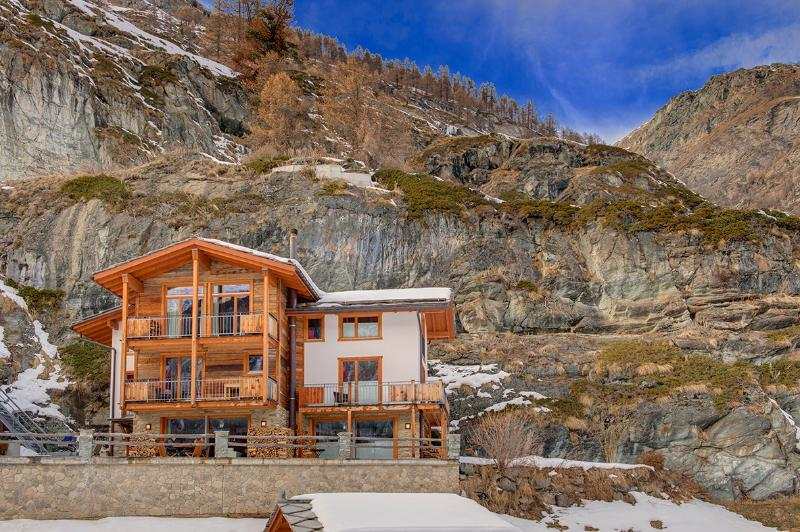 Winter - Mountain Exposure Chalet Ibron - independent freestanding, sauna - Zermatt - rentals