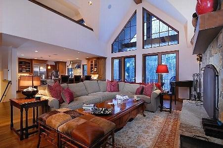 Great Room - Luxury Home in West Ketchum: Bordeaux 170 - Ketchum - rentals