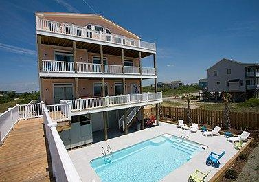 Pura Vida - 11br Luxury Topsail Island Beach House - Image 1 - North Topsail Beach - rentals