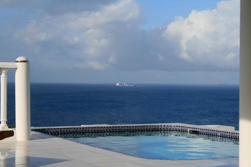 Big Sky views...why aren't you in the pool? - Bonbini Villa -top reviews/views/service! - Curacao - rentals