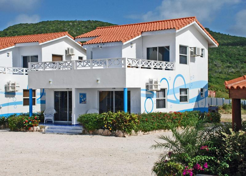 Our units, 10A and 10B 50 ft from ocean - Curacao Island Oasis Townhome #10A! - Westpunt - rentals