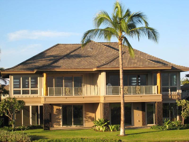 Our half of double home on right side - Great Discounts! Deluxe Vacation KaMilo Mauna Lani - Waikoloa - rentals