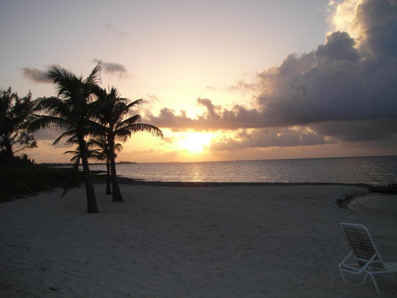 A magnificent sunset every evening steps from the door - Cayman Paradise- Booking for 2016 - Old Man Bay - rentals