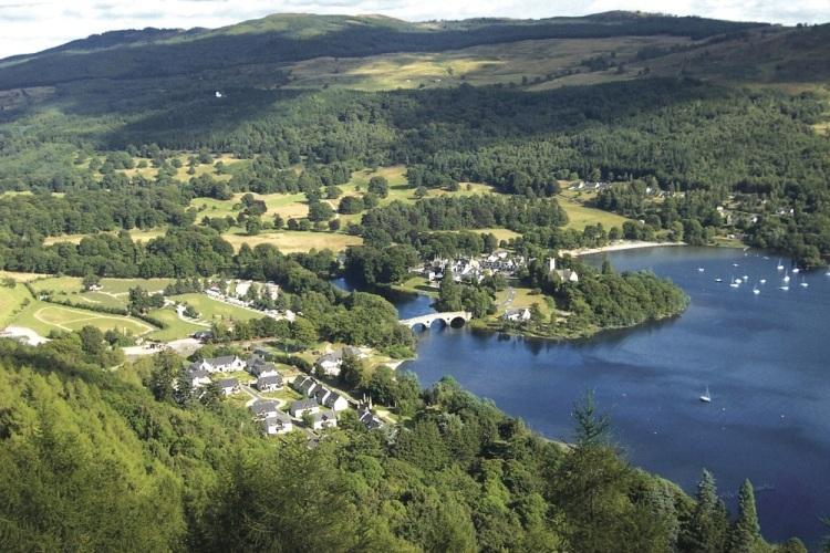 Kenmore & Loch Tay - 5* Luxury self catering holiday houses in Scotland - Aberfeldy - rentals