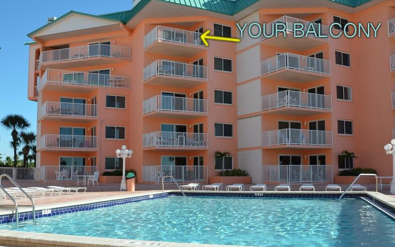 Pool Deck - Stunning Ocean View Condo!  Flat Screen TV, WiFi - Indian Shores - rentals