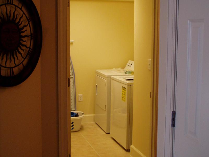 Laundry Room - Panama City Beach Sunrise Beach Oceanfront Condo - Panama City Beach - rentals