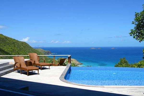 Rich & elegant Oriental flair with amazing views over Flamands Bay WV KUB - Image 1 - Colombier - rentals