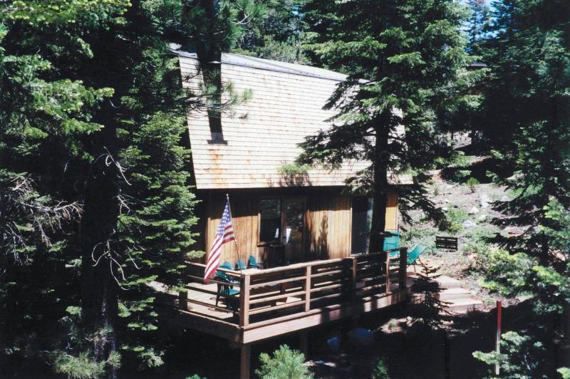 side deck - North Lake Tahoe, Alpine Meadows- The Bonaventure - Lake Tahoe - rentals