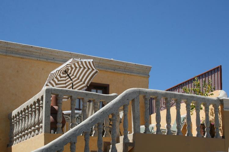 upstairs patio at the electric catfish unit - The Hideaway Condos - Puerto Penasco,Sonora Mexico - Puerto Penasco - rentals
