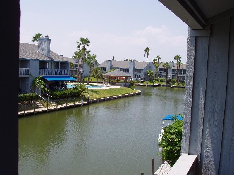 Great View from the back porch down the canal - there is a boat slip with your name on it! - Aloha Retreat with Boat Slip: $189/nt - $929 /wk - Rockport - rentals