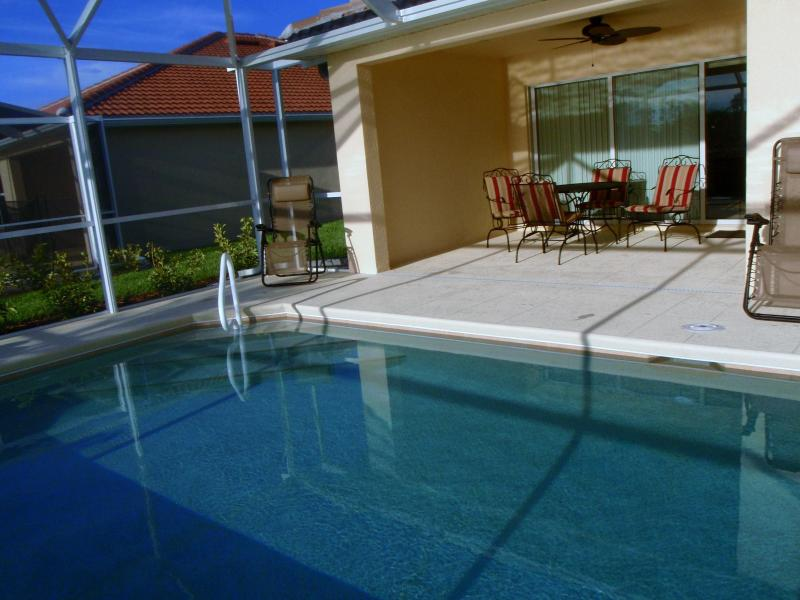 heated pool - Villa Home in Verona Walk -120 day Minimum Rental - Naples - rentals