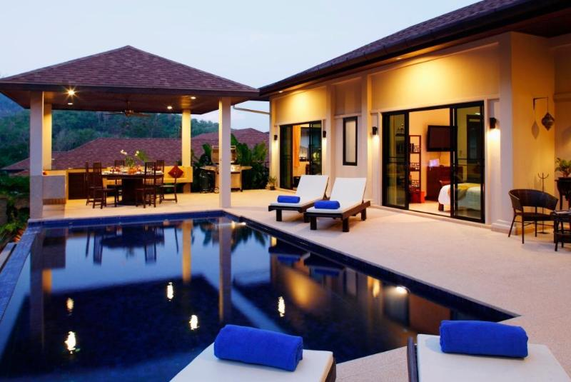 Relax around the swimming pool - Luxury 4 bed private pool villa - Nai Harn - Nai Harn - rentals