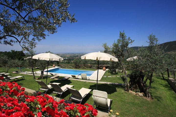 Romantic villa, pool, A/C, walking  Cortona - Image 1 - Arezzo - rentals