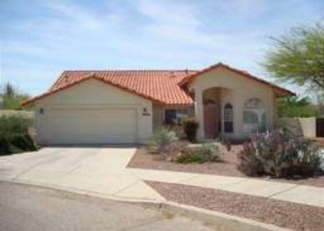 Front of House - Private Home in Ventana Canyon - Tucson - rentals